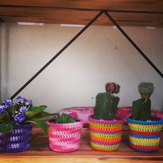 Cachepot crochet