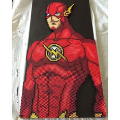 The Flash perler beads by  lperry556