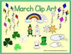 March Clip Art $3.00