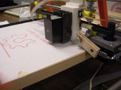 The goal of this project was to develop a low cost, open source inkjet printer utilizing standard inkjet technology, for personal use. 3d Printing News, 3d Printing Diy, 3d Printing Service, 3d Printing Technology, Screen Printing, Printer Desk, T Shirt Printer, Ice Cubes, Beaglebone Black