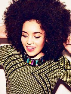 Natural hair, black hair