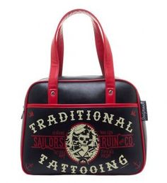 Shop a great selection of Sourpuss Sailor's Ruin Bowler Purse. Find new offer and Similar products for Sourpuss Sailor's Ruin Bowler Purse. Fendi, Gucci, Skull Purse, Sourpuss Clothing, Rock Style, Purse Wallet, Purses And Handbags, Leather Purses, Women's Accessories
