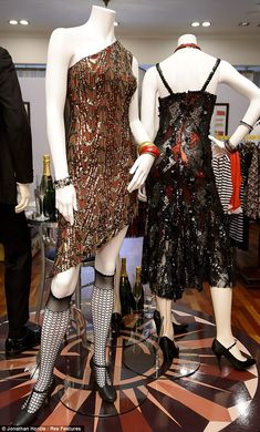 The exhibition will see 20 pieces worn by cast members including Leonardo DiCaprio and Carey Mulligan showcased in their Regent Street store