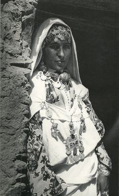 Young woman of Tafraout.