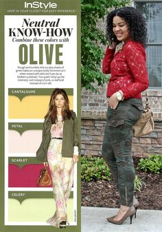 InStyle Neutral Know-How: Olive