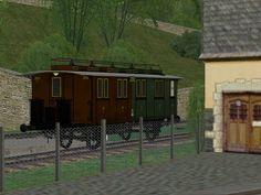 KPEV Personenwagen 2./3. Klasse, Gattung - BCi pr91