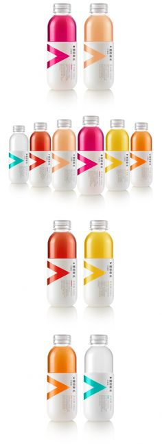 Vitamin-Enriched Water with a Color and Flavor Pop — The Dieline | Packaging & Branding Design & Innovation News