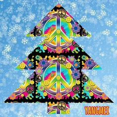 Peace at Christmas Hippie Peace, Hippie Love, Hippie Art, Hippie Style, Hippie Things, Hippie Chick, Chakras, Love Signs, Peace Signs