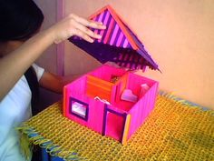 OUR LITTLE CORNERS: POPSICLE STICK DOLL HOUSE