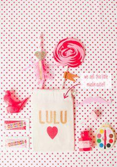 freezer paper valentine treat bags {stevie pattyn for shop sweet lulu}