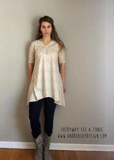 (9) Name: 'Sewing : Everway Tee & Tunic