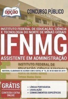 Apostila Assistente Em Administracao Concurso Ifnmg 2019