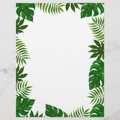 Idee Baby Shower, Boarder Designs, Hawaiian Party Decorations, Memorial Day Sales, Leaf Border, Dinosaur Birthday Party, Botanical Wall Art, Motif Floral, Boarders
