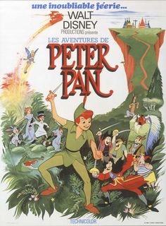 Throwback Thursday: Peter Pan's Posters This one is colorful too!  sho buz