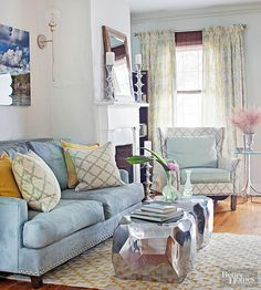 Get inspired to use fun and unique patterns in your home to create the perfect space. You'll love these trendy patterns that make any space pop with color and look beautiful.