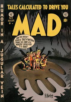 MAD Magazine Cover.