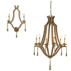 Simplicity Chandelier and Wall Sconces