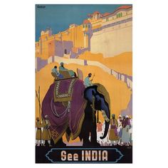 See India Canvas Art
