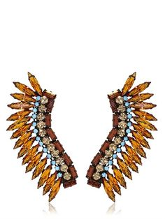 "JOANNA LAURA CONSTANTINE - ""AMERICANA"" COLLECTION EARRINGS - LUISAVIAROMA - LUXURY SHOPPING WORLDWIDE SHIPPING - FLORENCE"