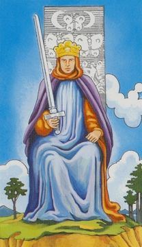 Detailed Tarot card meaning for the King of Swords including upright and reversed card meanings. Access the Biddy Tarot Card Meanings database - an extensive Tarot resource. King Of Swords Tarot, Tarot Significado, Witchcraft Books, Rider Waite Tarot, Tarot Astrology, Free Tarot, Tarot Card Meanings, Tarot Readers, Tarot Decks