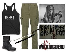 """The Walking Resistance"" by wearyourdissent ❤ liked on Polyvore featuring Steve Madden, rag & bone and resist"