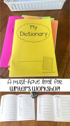 This STUDENT DICTIONARY includes all 220 DOLCH Sight Words, additional word lists, plus two different lined options! Each dictionary uses only 10 sheets of paper and photo instructions are included on how to easily assemble this great tool! $3