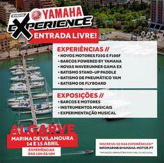 Inscreva-se nas experiências gratuitas do Yamaha Experience Vilamoura! Um evento em Vilamoura para toda a família. #yamaha #yamahamarine #waverunneryamaha #yamahawaverunner #mundoyamahamarine #waverunneryamaha #yamahawaverunner #foradebordayamaha #yamahaexperience #eventoyamaha #marinadevilamoura #algarve #yamahamusical #eventogratuito #entradalivre