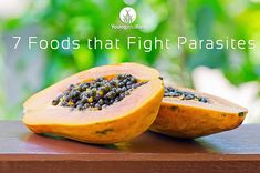 7 foods to fight parasites. Little Chewz supported a client with parasites and with the addition of papaya seeds to her diet she was able to release her parasites in 2 days...powerful stuff!