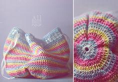 Crocheted bag..... Love!!!!