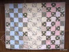 prošívaná deka / patchwork návod / quilt tutorial
