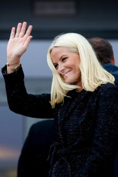 Crown Princess Mette-Marit of Norway visits the community of Steigen,during an official visit to Nordland 2014