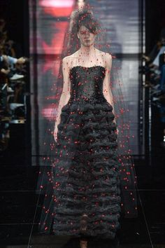 Armani Privé   Fall 2014 Couture Collection   Style.com