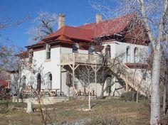 One of the original pioneer homes in Bluff, Utah