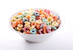 Froot Loops are said to contain 106 times more sugar than Shredded Wheat.