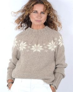 This is a knit turtleneck with a full-cardigan stitch and a modern curved hemline. It's made with merino wool from Italy that's exceptionally soft and warm. Cable Knitting, Knitting Kits, Knitting Designs, Pullover Mode, Intarsia Patterns, Raglan, Couture, Sweater Fashion, Pulls