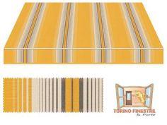 Tende da sole Tempotest gialli 968/12