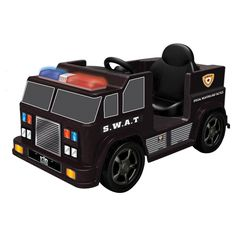 kid motorz swat car battery powered riding toy
