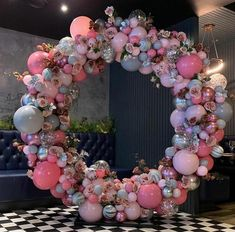 balloon arch What can be better than handmade balloon decorations to enliven a party? Here is an amazing gallery of DIY balloon decorating ideas to help you out. Browse below. Birthday Party Decorations, Baby Shower Decorations, Flower Decorations, Wedding Decorations, Birthday Parties, Birthday Cake, Party Themes, Balloon Backdrop, Balloon Garland