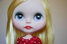 OOAK Custom Factory Blythe Doll Emma by MissFreyaJ
