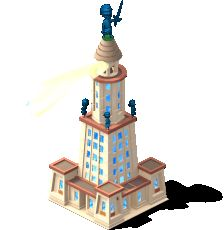 Lighthouse Of Alexandria from the Cityville video game.