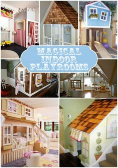 Magical Indoor Playhouses for kids