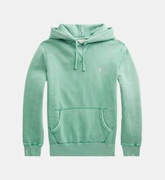 Polo Ralph Lauren Cotton Dyed Hoodie in Green for Men Clothing | SALES Galeries Lafayette: a wide choice of $ libelle | SALES Galeries Lafayette Polo Ralph Lauren Hoodie, Fleece Hoodie, Clothes For Sale, Spring Outfits, Hoodies, Long Sleeve, Casual, Sleeves, Cotton