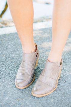 RubyClaire Boutique - The Jany Booties | Taupe, $42.00 (https://www.rubyclaireboutique.com/the-jany-booties-taupe/)