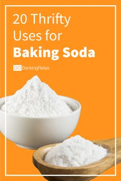 Believe it or not, there are many uses for baking soda outside of the kitchen.