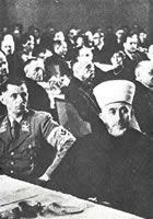 Amin Al Husseini at a Nazi meeting during WWII Saddam Hussein, Muslim Brotherhood, Al Qaeda, Wwii, Islam, History, Division, Art, Historia