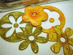 StampingMathilda: Chipboard Flowers