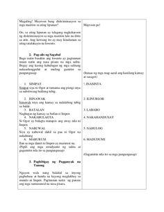 Lessno Plan sa Filipino Teacher Lesson Plans, Filipino, Nasa, How To Plan, School, Black