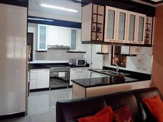 9 Modular Kitchen Cabinet Tips with Images to give them Modern Look - My Home Decor Ideas Modular Cabinets, Custom Cabinets, White Kitchen Cabinets, Kitchen Cabinet Design, L Shaped Modular Kitchen, Coffee Theme, Decorating Ideas, Decor Ideas, New Kitchen