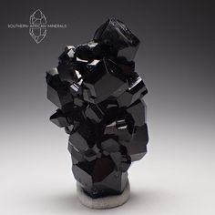 Gorgeous Black Tourmaline Crystal Cluster, Erongo Namibia