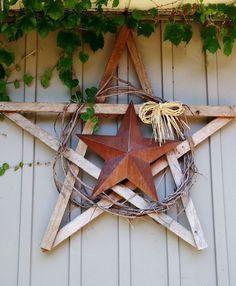 Gartendeko aus Metall und Holz selber machen